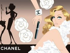 Jordi Labanda and Chanel.love it Chanel Birthday Party, Chanel Party, Chanel Wedding, Claire Keane, Chanel Wallpapers, Chanel Decor, My Little Paris, Chance Chanel, Free Printable Cards
