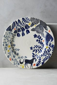 Saga Dinnerware - anthropologie.com