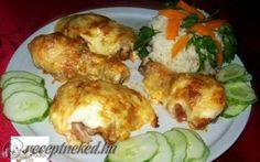 Érdekel a receptje? Kattints a képre! Croatian Recipes, Hungarian Recipes, Meat Recipes, Chicken Recipes, Cooking Challenge, Green Eggs And Ham, Tasty, Yummy Food, Main Meals