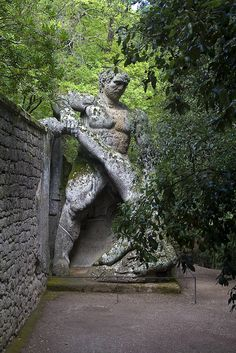 Ercole in the Monster Park, Bomarzo, Viterbo