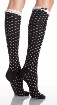cute socks for black boots