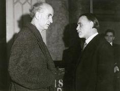 Furtwängler & Zoltán Kodály in Budapest, on 22 February 1943