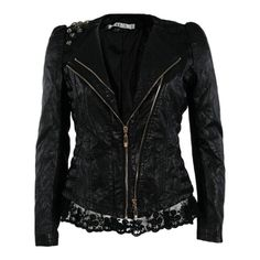 Lace jacket. ❤ liked on Polyvore featuring outerwear, jackets, tops and lace jacket