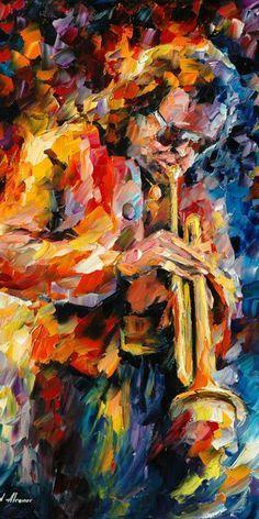 Miles Davis - Leonid Afremov