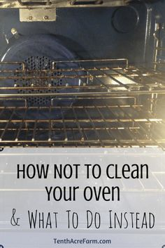 Cleaning the oven seems so daunting that most of us avoid it entirely. Here's…