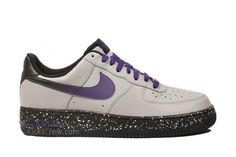 Nike Air Force 1 Low   Wolf Grey   Court Purple