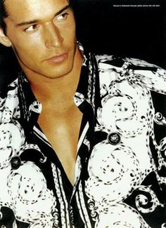 Savage Men male dancer pictured in Versace for Uomo Vogue Magazing. See him at our strip shows weekly. Savage, Alexander Mcqueen Scarf, Versace, Dancer, Vogue, Strip Clubs, Blouse, Pictures, Tops