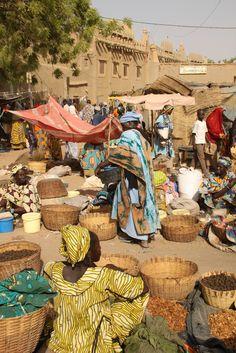 Djennes famous Monday Market, Mali