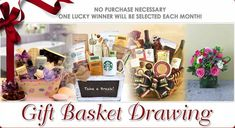 Congratulations to our January's Gift Basket Drawing Winner Tonya Froemel!  http://www.LaBellaBasketsDrawing.com/FreeMonthlyDrawing