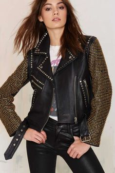 Nasty Gal Bead The Odds Leather Jacket | Shop Clothes at Nasty Gal!