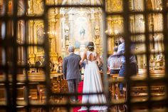 One of the highlights of a religious Wedding In Santa Clara's Church (Funchal): the Bride's walk down the aisle