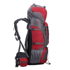 Tactical Camping Hiking Traveling Mountaineering Backpack 80L