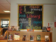 Library Media Specialist Help Desk: Wonderful Bulletin Board