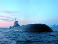 Typhoon submarine unveils secrets