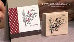 Julie's Stamping Spot -- Stampin' Up! Project Ideas Posted Daily: TV Appearance: Fun with Markers