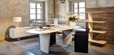 Executive furniture Shift by Tecno, Norman Foster design