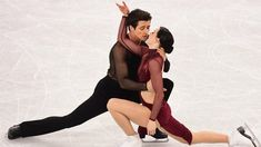 "A look back at Tessa Virtue and Scott Moir's figure skating legacy, set to Jim Cuddy's ""Pull Me Through""."