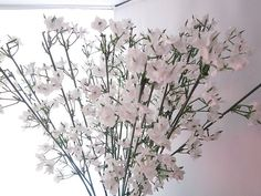 10 PCS Beautiful Artificial Gypsophila Bouquets Silk Flowers