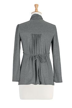 Womens designer clothes - Embellished Tops, Plus Size Tops, Tunic Tops, Womens Long Sleeve Tops - | eShakti.com