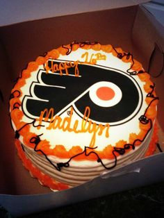 Check out Maddy's birthday cake! #Flyers  (www.twitter.com/@Lax_flyers1344)