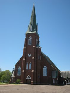 St Simon and St Jude Church - Tignish, Prince Edward Island - Photo by Miss Perry