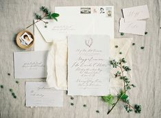 Photo by Rylee Hitchner | Paper Goods & Calligraphy by Abany Bauer of Brown Linen