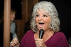 gray hair style looks good on Paula
