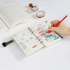 韩国笔记本文具创意手账本日记本便携日程本随身小本子绑带活页本