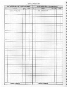 Blank Time Sheet Form   construction forms   Pinterest   Card ...