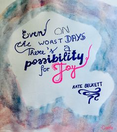 Just a beautiful Castle quote by Kate Beckett... I love trying out calligraphy, especially when it features Castle #Castle