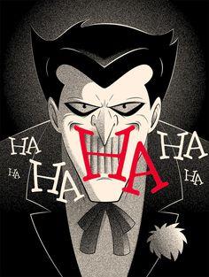 """The Joker"" Art Illustration By #GuillaumeMorellec #Joker #DcVillian #DcComics #DC #Gotham"