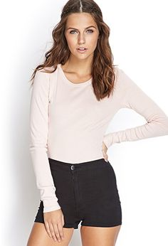 Crew Neck Knit Top   Forever 21 - 2055879811