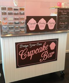 Create your own cupcake bar...