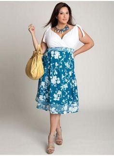 Moda Estilo Y Distinción Para Gorditas: Vestidos Primavera Verano y Vestidos de Fiesta -
