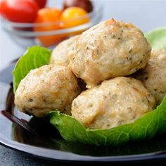 "Cheesy Chicken Meatballs I ""These were juicy with wonderful flavor, look and smell!"""