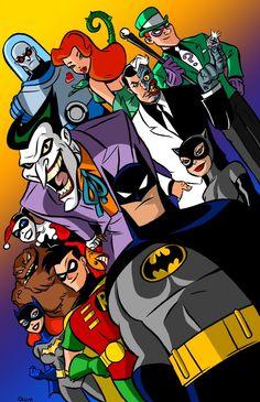 Batman The Animated Series - Balsavor