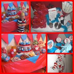 Cat in the hat party inspiration