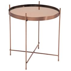 In the must-have metal of the moment, Copper, the Modular Side Table will add a gorgeously luxurious yet contemporary feel to your home styling. | The French Bedroom Company
