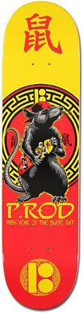 Plan B P-Rod Skate Rat 7.75 Skateboard Deck at Zumiez : PDP