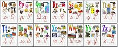 Un blog cu materiale didactice de 10(zece) de aplicat in invatamantul primar. Alphabet Writing, Learning The Alphabet, Letter Worksheets, First Grade, Toddler Activities, Crafts For Kids, Children Crafts, Teaching, Lettering