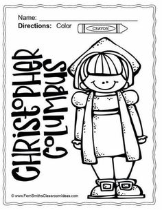 columbus day coloring pages dollar deal christopher columbus rh pinterest com Christopher Columbus Death Christopher Columbus Death