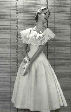 Florencia's 15th birthday dress 1955 Jacques Fath