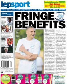Today's back page 21-08-13
