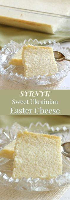 Syrnyk - this Sweet Ukrainian Easter Cheese is an old family recipe for a holiday side dish or dessert recipes recipes ideas families recipes ideas sides recipes ideas simple Ukrainian Recipes, Russian Recipes, Ukrainian Food, Ukrainian Cookies Recipe, Ukrainian Desserts, Cupcake Recipes, Dessert Recipes, Party Recipes, Cheesecake Recipes