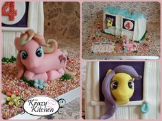My Little Pony stable cake <3  #mylittlepony #stable #cake
