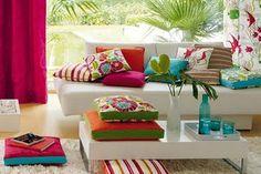 Paleta de cores #pink #turquesa