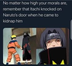 Naruto Quotes, Funny Naruto Memes, Stupid Funny Memes, Funny Relatable Memes, Itachi Memes, Anime Meme, Funny Anime Pics, Anime Manga, Anime Qoutes
