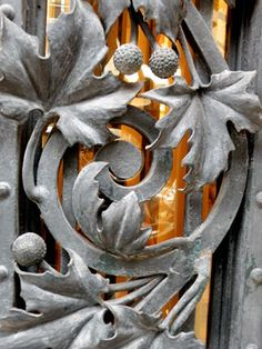 Detailed Ironwork from the Hotel de Ville - Paris, France