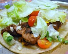 This is a wonderful slow cooker version of Pork Adobo Tacos that uses lean pork tenderloin and dried ancho chile peppers.