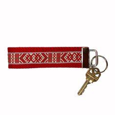 ScandinavianShoppe.com - Key Fob Fabric Keychain